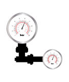 Special manometer Stock Photos