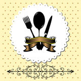 Special menu design Royalty Free Stock Images