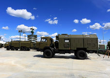 Special military vehicles Stock Photo