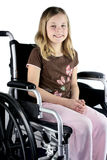 Special Needs Child stock photos