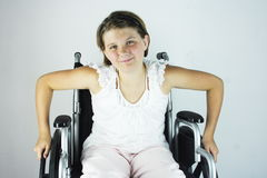 Special Needs Girl 2 Royalty Free Stock Photos