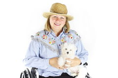 Special Needs Senior Stock Photo