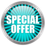 Special offer. Icon isolated on white background Stock Image