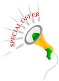 Special Offer. Illustration for the Special offer Royalty Free Illustration