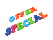 Special offer. A special offer, only today Royalty Free Stock Photos