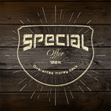 Special offer badges logos and labels for any use Royalty Free Stock Photo