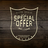 Special offer badges logos and labels for any use Royalty Free Stock Photography