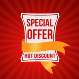 Special offer banner Royalty Free Stock Images