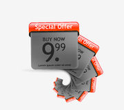 Special Offer Banner Set Vector Stock Image