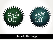 Special Offer Banner Set Vector illustration Stock Photography