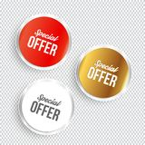 Special offer banners. Vector illustration Royalty Free Stock Photo