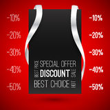Special offer. Best choice. Hot sale Royalty Free Stock Photo