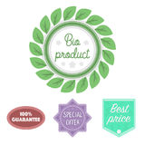 Special offer, best prise, guarantee, bio product.Label,set collection icons in cartoon style vector symbol stock Stock Photos