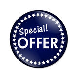 Special Offer Button Stock Image