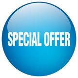 Special offer button. Special offer round button isolated on white background. special offer stock illustration