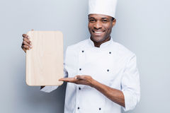 Special offer from chef. Royalty Free Stock Photos