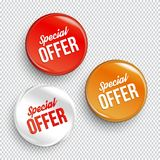 Special offer color banners. Special offer banners. Vector illustration Stock Images