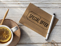 Special Offer Commerce Limited Marketing Concept Stock Photo