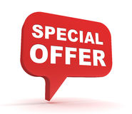 Special offer concept 3d illustration Royalty Free Stock Image