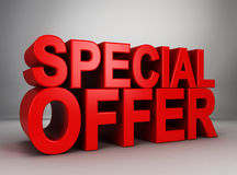 Special offer Stock Photography