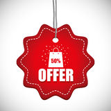Special offer design Stock Images