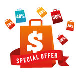 Special offer design Stock Image