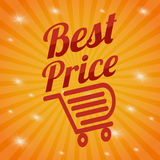 Special offer design Stock Photography
