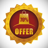 Special offer design. Special offer concept label with sale icons, vector illustration 10 eps graphic Stock Photos