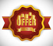 Special offer design Stock Image