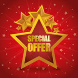 Special offer design Royalty Free Stock Image