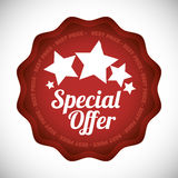 Special offer design Stock Photo