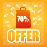 Special offer design. Stock Images