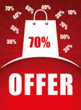 Special offer design. Royalty Free Stock Photos