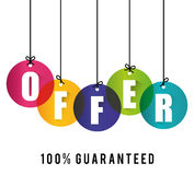 Special offer design. Stock Photo