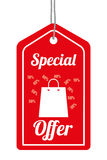 Special offer design. Royalty Free Stock Photo