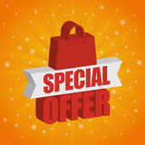 Special offer design. Royalty Free Stock Image