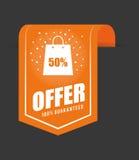 Special offer design. Stock Photos