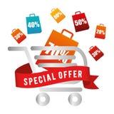 Special offer design. Stock Image
