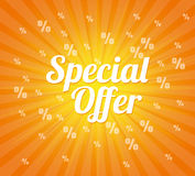 Special offer design. Royalty Free Stock Images