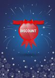 Special Offer Discount New Year Sale Shopping Banner Stock Photography