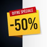 Special offer 50% discount Stock Photography