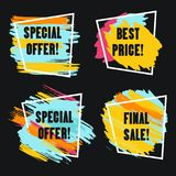 Special Offer grunge style Stock Photo