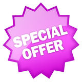 Special offer icon Stock Images