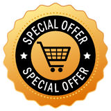 Special offer icon Stock Image