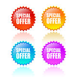Special offer icon Royalty Free Stock Image