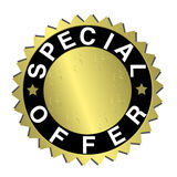 Special offer label. Design element - special offer label Royalty Free Stock Image