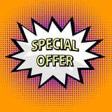 Special offer label Stock Photography