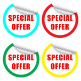 Special Offer Label Stock Photos