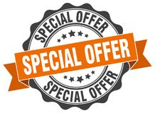 Special offer seal Stock Photos