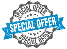 Special offer seal Stock Photography